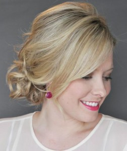 Side Updo With a Twist
