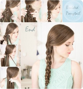school ponytail hairstyles