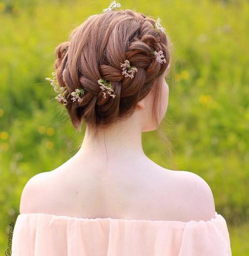cool crown braid