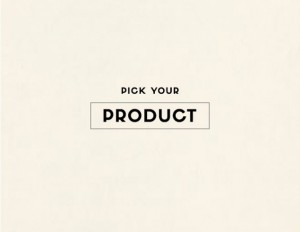 pick up your product